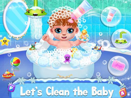 Ice Princess Pregnant Mom and Baby Care Games screenshot 3