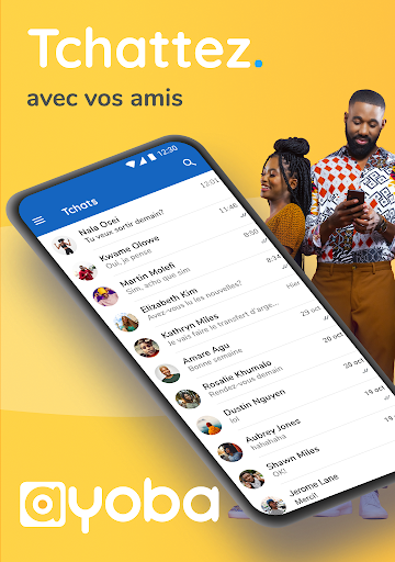 Ayoba screenshot 1
