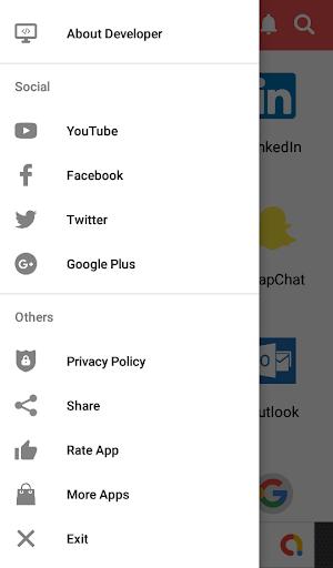 Social Media screenshot 1