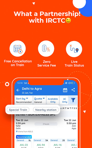 Goibibo Travel App-Hotel, Flight, IRCTC Train, Bus screenshot 5