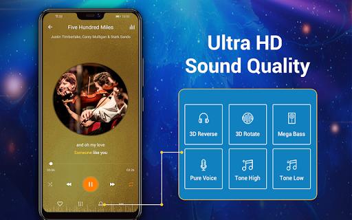 Pemutar musik - MP3 Pemain & 10 Band Equalizer screenshot 14