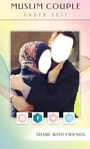 Muslim Couple Photo Suit screenshot 6