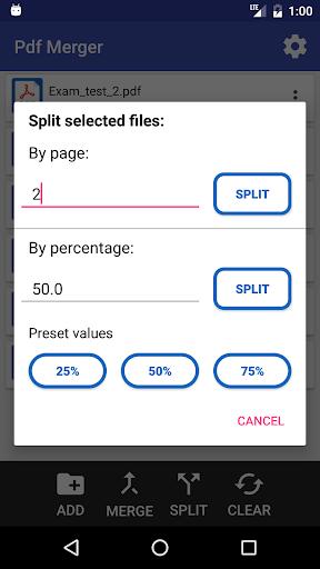 Multiple PDF Merger screenshot 4