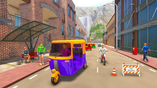 Tuk Tuk Rickshaw: Free Driving Games screenshot 2