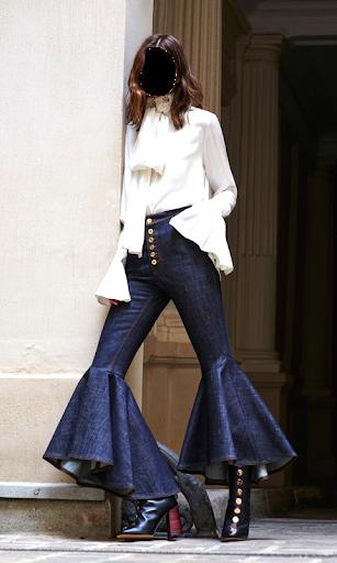 Girls Jeans Photo Suit screenshot 1