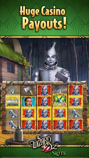Wizard of Oz Free Slots Casino 1 تصوير الشاشة