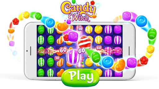 Candy Witch - Match 3 Puzzle Free Games screenshot 6
