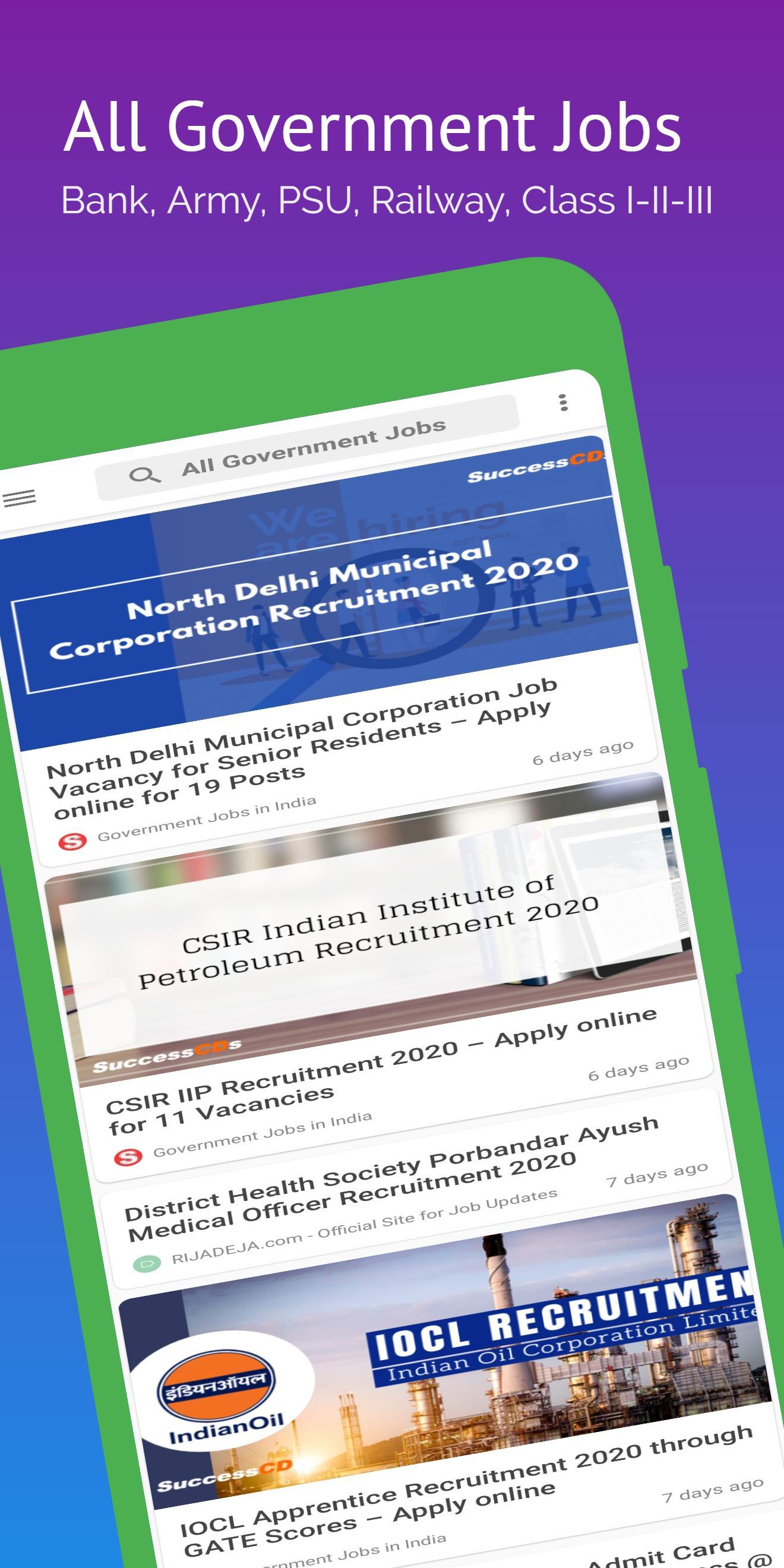 Jobs India: All Government Job Updates, Job Alerts screenshot 3