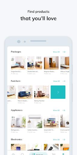 RentoMojo: Rent Furniture, Appliances, Electronics 3 تصوير الشاشة
