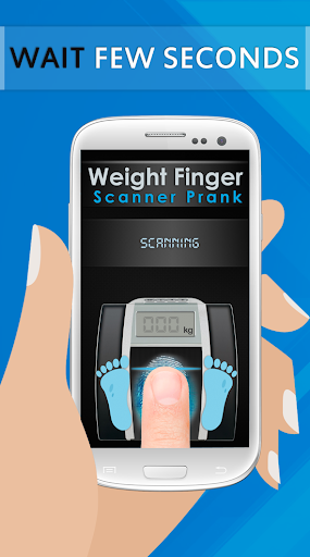 Weight Finger Scanner Prank 3 تصوير الشاشة