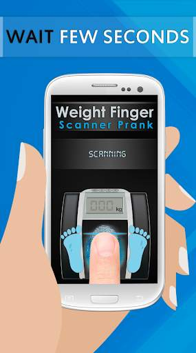 Weight Finger Scanner Prank screenshot 4