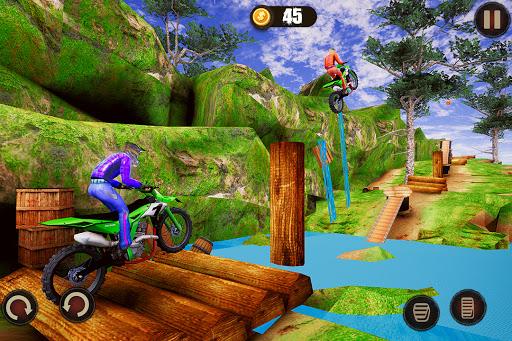 Impossible Bike Stunt Master 3D - New Moto Bike 5 تصوير الشاشة