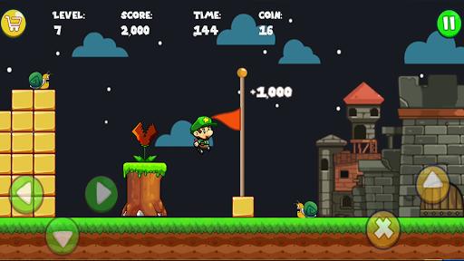 Super Bob's World : Free Run Game 1 تصوير الشاشة