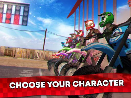 Free Motor Bike Racing - Fast Offroad Driving Game screenshot 16