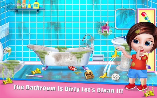 House Cleaning - Home Cleanup Girls Game screenshot 17