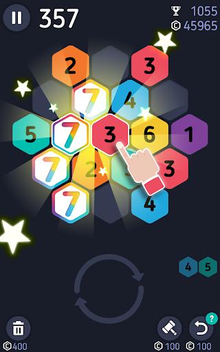 Make7! Hexa Puzzle 2 تصوير الشاشة