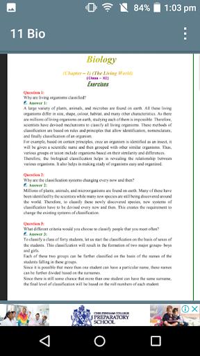 Class 11 Bio notes screenshot 7