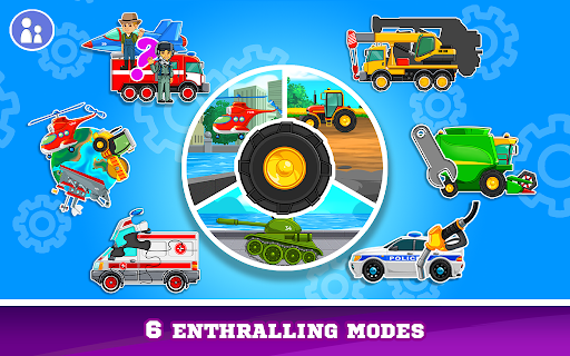 Kids Cars Games! Build a car and truck wash! screenshot 1