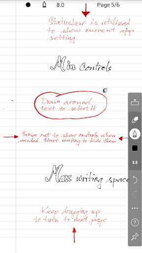 INKredible - Handwriting Note 1 تصوير الشاشة