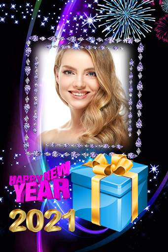 2021 New Year Photo Frames Greeting Wishes screenshot 1