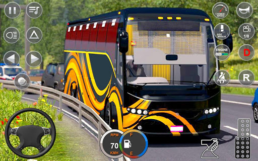 Impossible Bus Stunt Driving: Offraod Bus Driving screenshot 4
