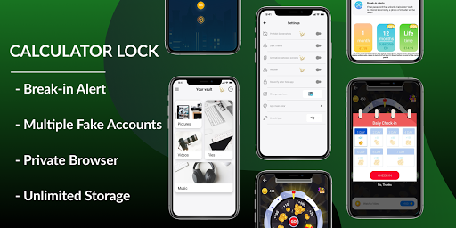 Calculator Lock – Lock Video & Hide Photo स्क्रीनशॉट 4