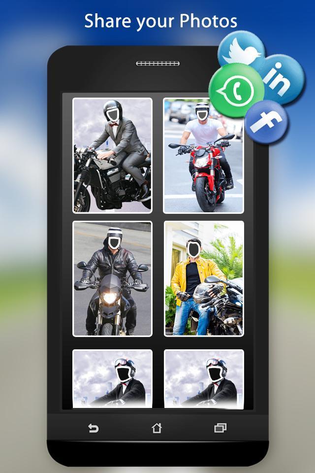 Bike Photo Suit screenshot 6
