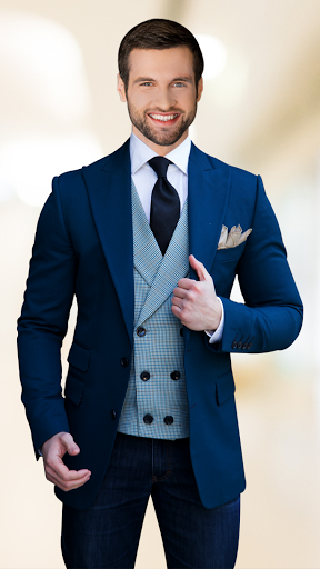 Man Suit Photo Editor screenshot 1