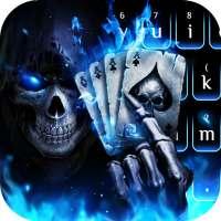 Horrible 3D Poker Skull on 9Apps