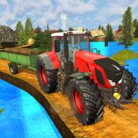 Tractor Hill Driver 3D on 9Apps