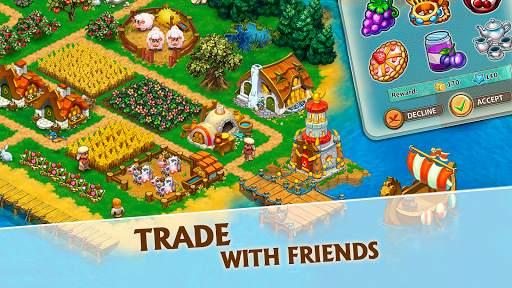 Harvest Land: Farm & City Building screenshot 5