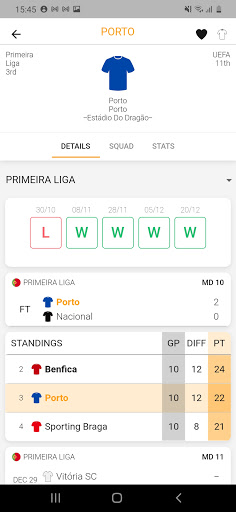 LiveSoccer: football live scores in real-time 3 تصوير الشاشة