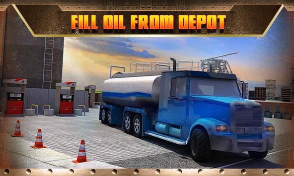 Oil Transport Truck 2016 screenshot 4