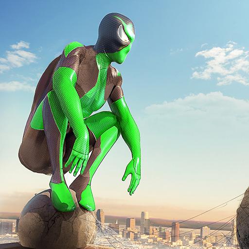 Rope Frog Ninja Hero - Strange Gangster Vegas icon