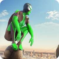 Rope Frog Ninja Hero - Strange Gangster Vegas on 9Apps