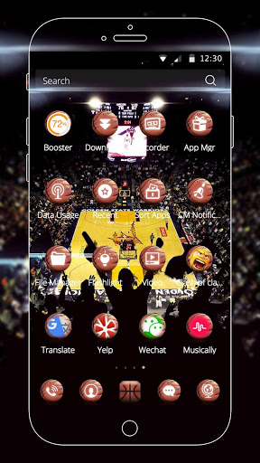 Basketball Theme screenshot 5