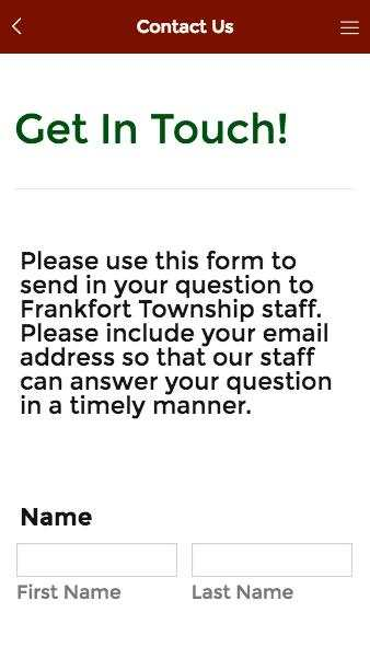 Frankfort Township screenshot 3