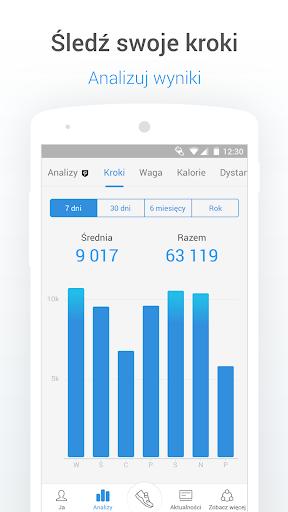 Krokomierz - kroki, kalorie, trening i waga screenshot 2