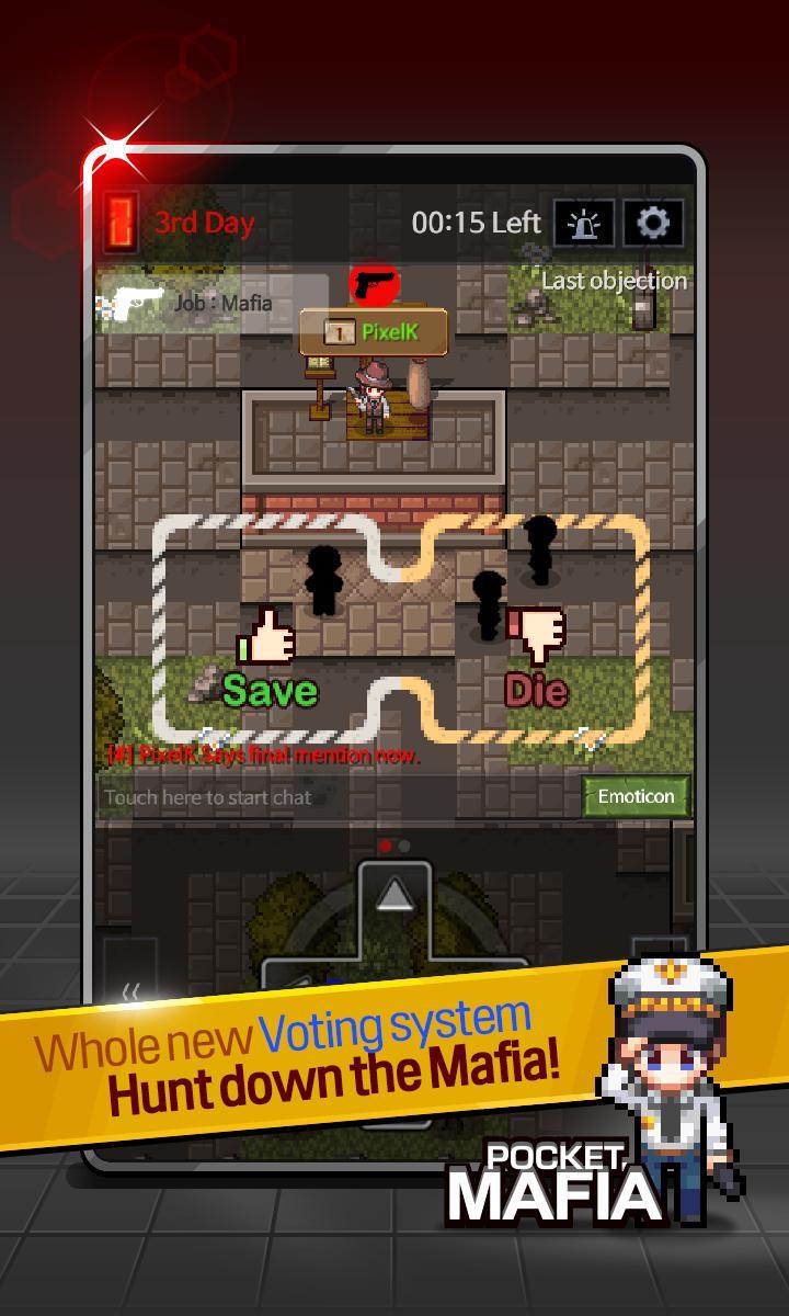 Pocket Mafia: Mysterious Thriller game 5 تصوير الشاشة