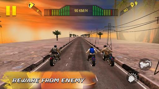 Moto Attack 3D Bike Race 2016 screenshot 7