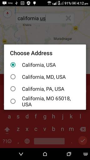 Mapa GPS grátis screenshot 3