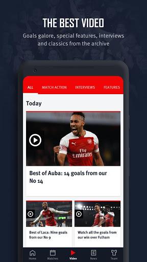 Arsenal Official App 7 تصوير الشاشة