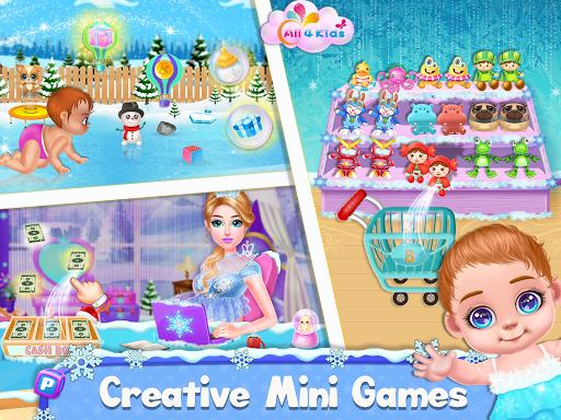 Ice Princess Pregnant Mom and Baby Care Games screenshot 6