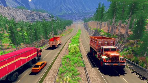 Asian Truck Simulator 2020: เกมขับรถบรรทุก screenshot 4