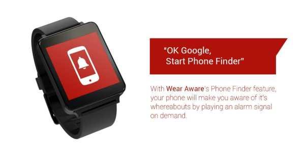 Wear Aware - Phone Finder screenshot 2