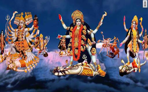 4D Maa Kali Live Wallpaper 10 تصوير الشاشة