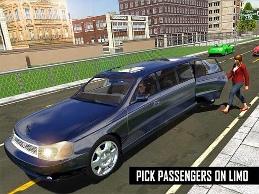 Big City Limo Car Driving Simulator : Taxi Driving 16 تصوير الشاشة