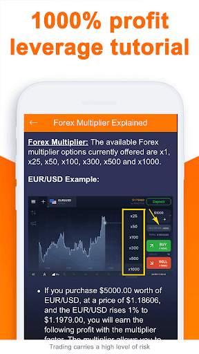 Forex Trading IQ Option Guide screenshot 4