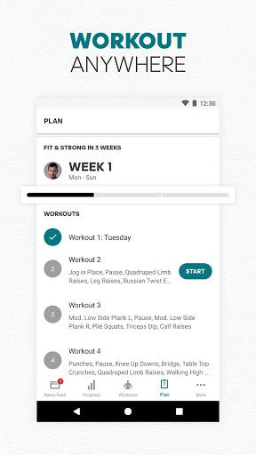 adidas Training by Runtastic - Workout Fitness App screenshot 7