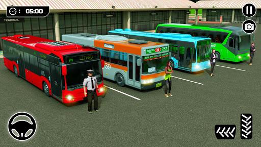 الباص ألعاب ٢١ : مدينة مدرب حافلة القيادة محاكاة 5 تصوير الشاشة